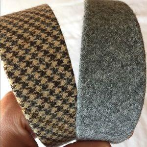Wool J. Crew headbands